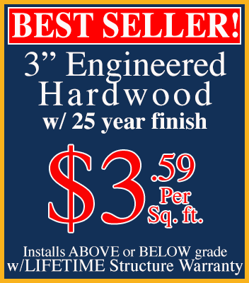 Nevin Broomes Engineered Hardwood Flooring Special
